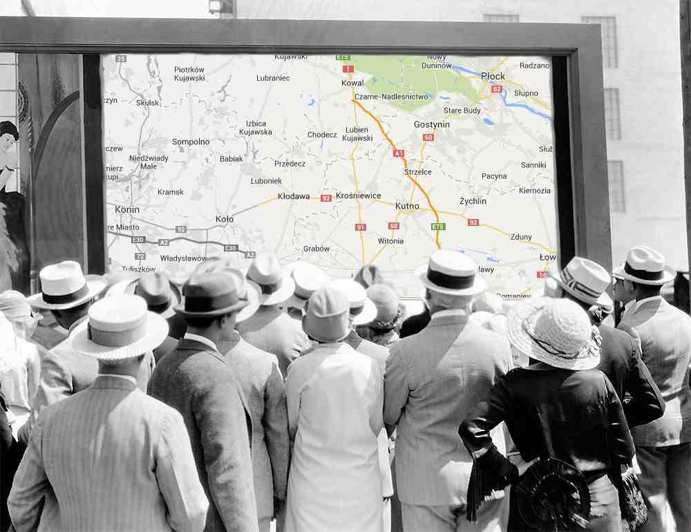 Nowe mapy GOOGLE w GPS Guardian