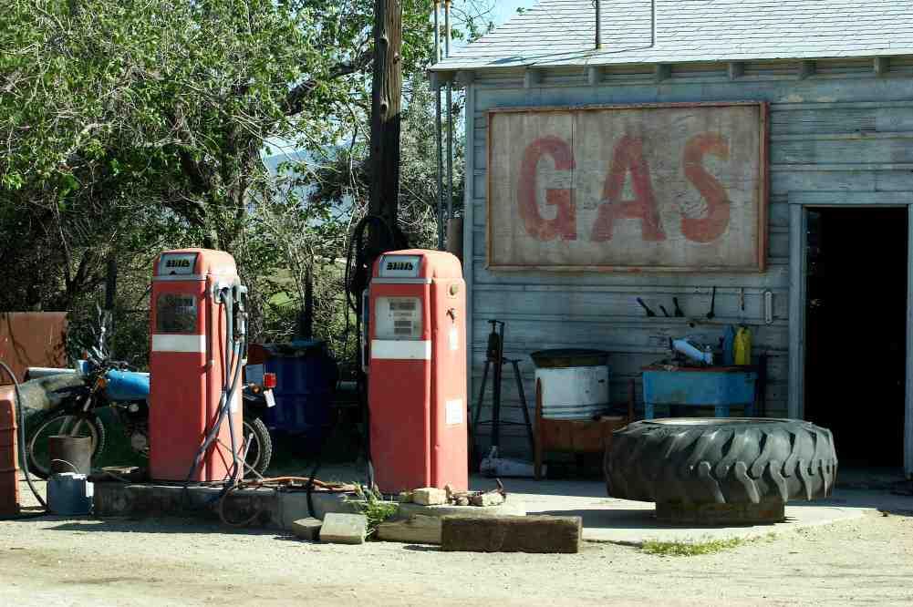Stara stacja paliwowa - Kontrola i monitoring paliwa