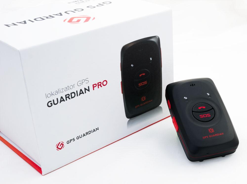 Lokalizator GPS Guardian PRO zdjęcie pudełka