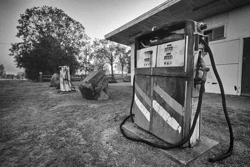 Stare dystrybutory paliwa - monitoring i kontrola spalania